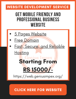 Professional Business Website Service Genius Impex Pakistan